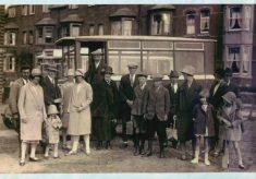 Hempshal's bus, at Redmile