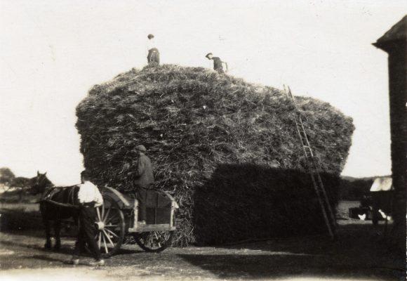 Haystack, at the barn, Barkestone