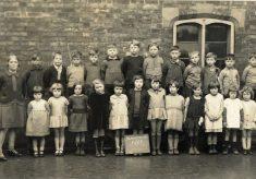Barkestone School, 1928, infants