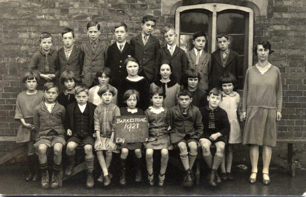 Barkestone School, 1928, juniors