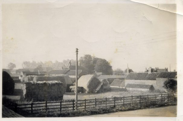 Stackyard at Pasture Farm, Plungar