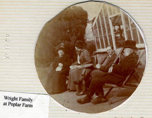 The Wright family at Poplar Farm, Plungar