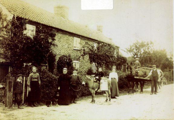 Barrat's Cottages, Harby Lane, Plungar