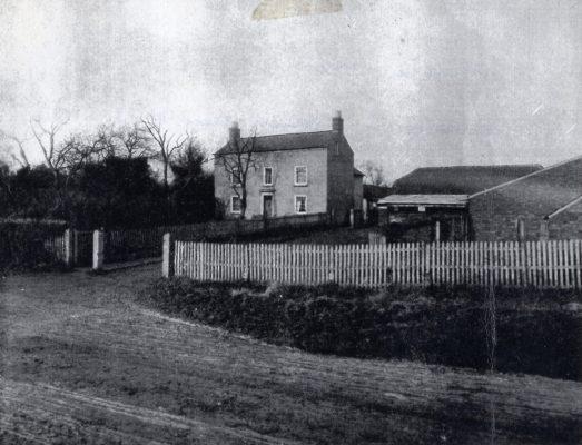 Cherry Trees Farm, Plungar, in 1921