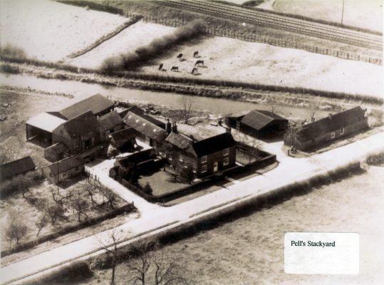 Aerial view of Grange Farm, Plungar