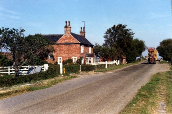Grange Farm, by the canal bridge, Plungar