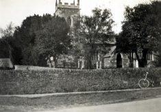 St Helens parish church, Plungar, in the 1890s