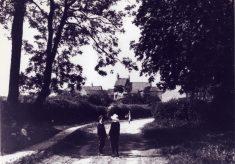 Granby Lane, Plungar, in the 1890s
