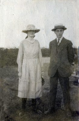 Couple at Pasture Farm, Plungar