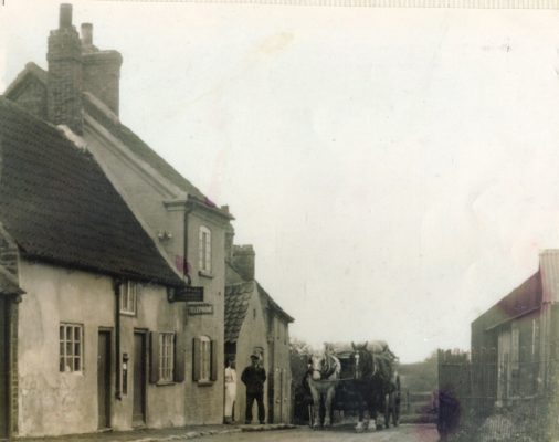 Post Office Lane, Plungar, 1930s