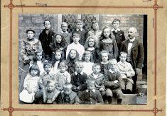 Barkestone village school, 1904