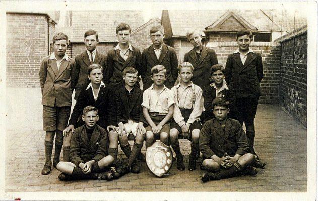 Bottesford School cricket team, c.1928