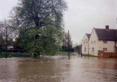 Floods at Bottesford, Good Friday 1998