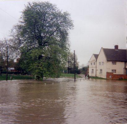 Floods at Bottesford, Good Friday 1998