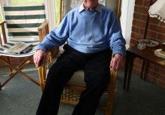 Mr Kirk, in his sitting room, 2010