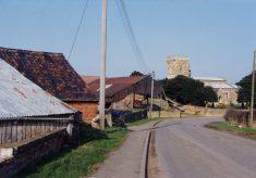 Pasture Farm, Huckleby's Farm and St Helen's Church, Plungar