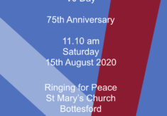 VJ Day 75th Anniversary - Ringing for Peace