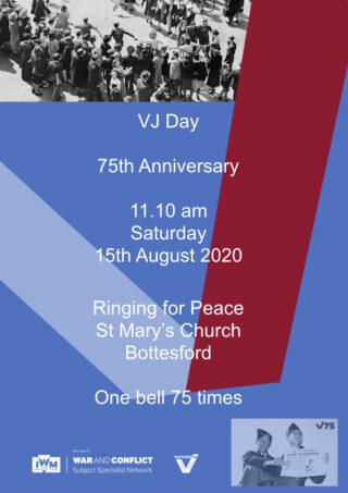 VJ Day Poster   BCHG