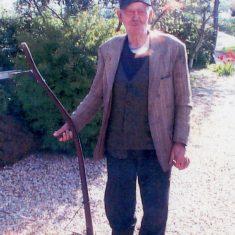 Sidney Damms, at the Lock House, c.2004 | Margaret Langton