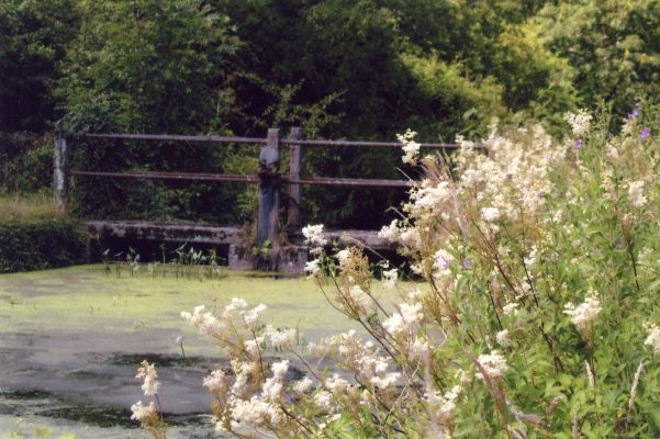 The lock gate giving access to the old lock house 3