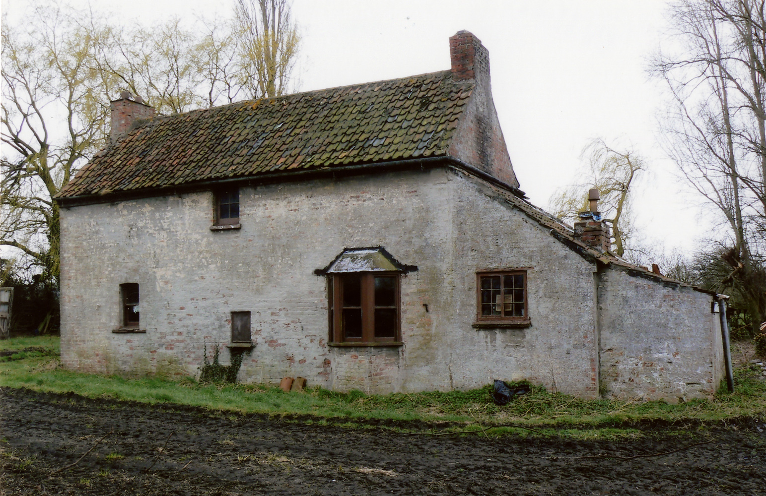 The lock house, view of the rear elevation
