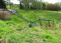 The plough, seen in profile.