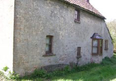 A view of the rear of the Lock House cottage
