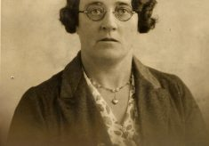 Miss Evelyn Marston (nee Box), in the early 1930s.