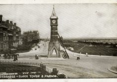 Postcards of Skegness Clock Tower and the Parade, Edwardian