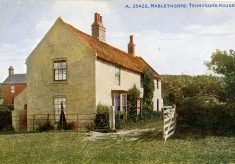 Tennyson's house at Mablethorpe, Lincolnshire