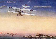 Wartime postcard: those magnificent men ...