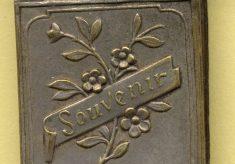 A souvenir matchbox from the First World War