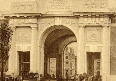 Postcard: the Menin Gate, Ypres