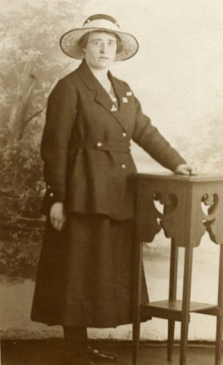 Evelyn Marston (nee Box), c.1934.   From Janet Dammes' family archive.
