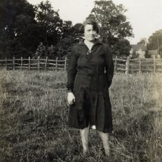 Eve Marston, in a paddock near her home.   Janet Dammes