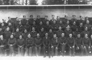 British and Allied surgical patients at Stalag 344, February 1944. This is an un-named group of inmates, and it is not likely that Gunner Philpotts is one of them. | Wikipedia: contributed anonymously by