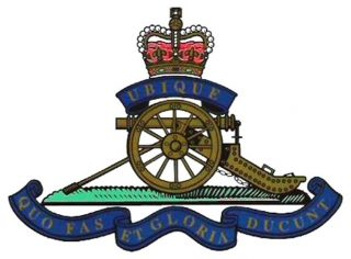 Royal Artillery badge from the Second World War | Wikipedia