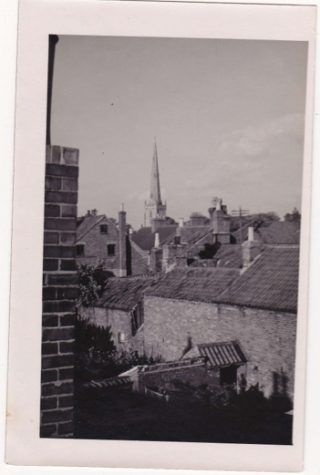 Roof line rear from Field View | From the collection of Tim Doncaster