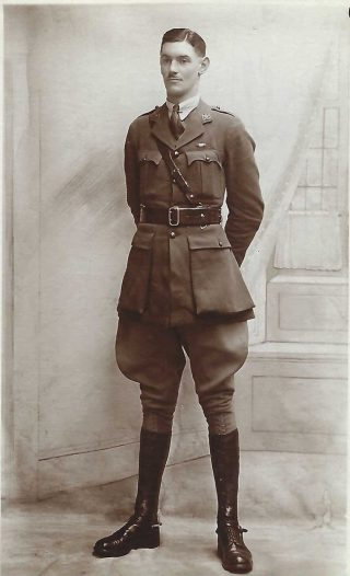 A.C.Wright - Commissioning Photo, August 1918 | Copyright Dr Rebecca Matthews