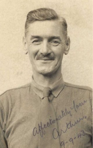 A.C.Wright, a prisoner at Oflag IX a/h (1943) | Copyright Dr Rebecca Matthews